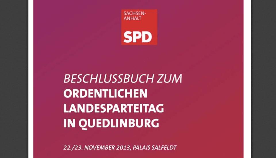 Beschlüsse der SPD Sachsen-Anhalt für Menschen, Pelztiere, Wildtiere und Schweinswale
