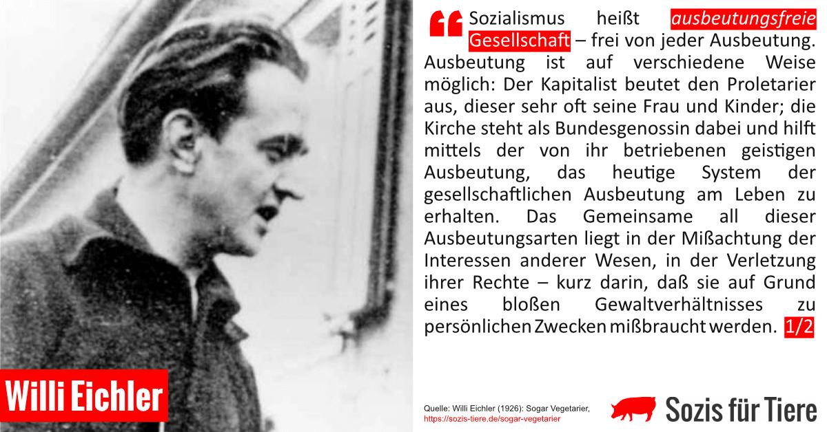 Sozialismus heißt ausbeutungsfreie Gesellschaft
