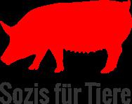 Sozis für Tiere Logo quadratisch grau