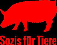 Sozis für Tiere Logo quadratisch rot