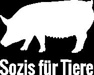 Sozis für Tiere Logo quadratisch weiß
