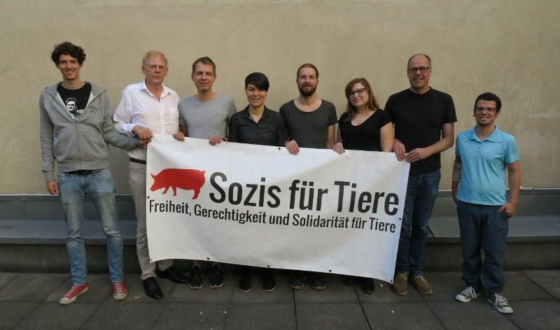 Gründungsmitglieder Sozis für Tiere