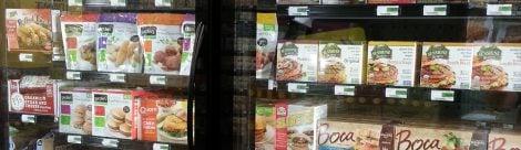 Supermarkt Tiefkühlware